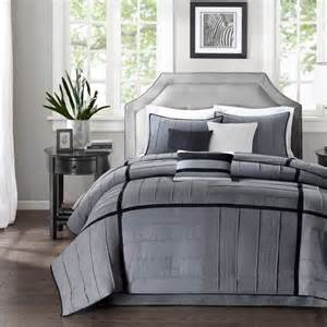www home decorating co com shop madison park bridgeport modern grey bed covers the