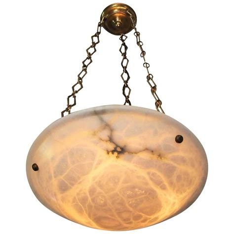 Alabaster Pendant Light Directoire Style Alabaster Chandelier Pendant Light For Sale At 1stdibs