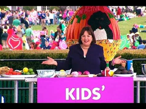ina garten kids 2013 white house easter egg roll play with your food with