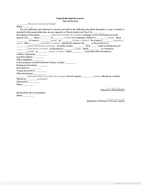 Bank Letter Of Direction Insurance Company Insurance Company Direction To Pay