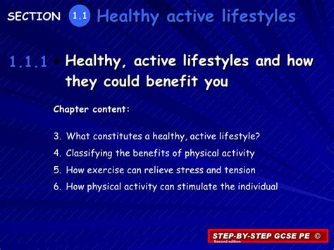 Healthy Active Living Essay by 1 1 1 Healthy Active Lifestyles And How They Could Benefit You