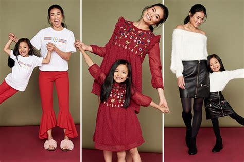 this mother and daughter look is fabulous matching mother and daughter outfits is the high street s