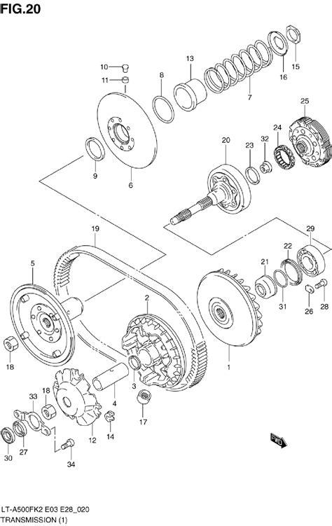 Suzuki Vinson Parts Suzuki 500 Vinson Wiring Diagram Suzuki King 750