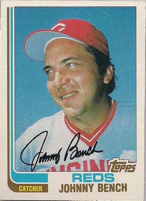 johnny bench stats all trade bait all the time binder page heroes 7