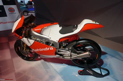 mahindra two wheelers mahindra two wheelers auto expo 2016 team bhp