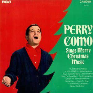 perry como perry como sings merry christmas   vinyl discogs
