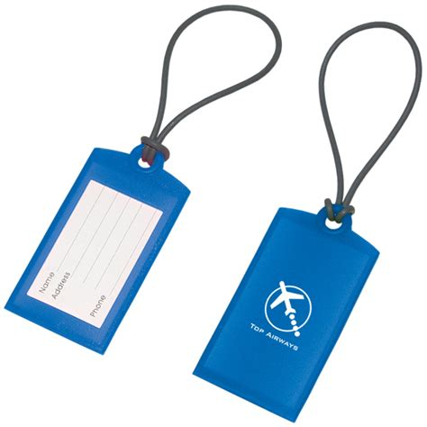 silicone tags silicone luggage tag