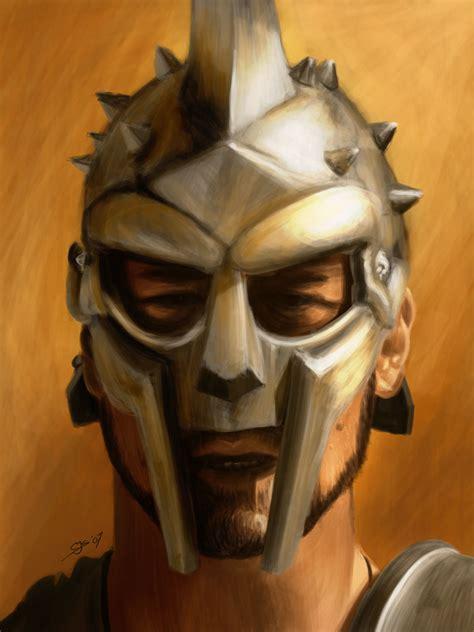 gladiator film helmet gladiator by saviourmachine on deviantart