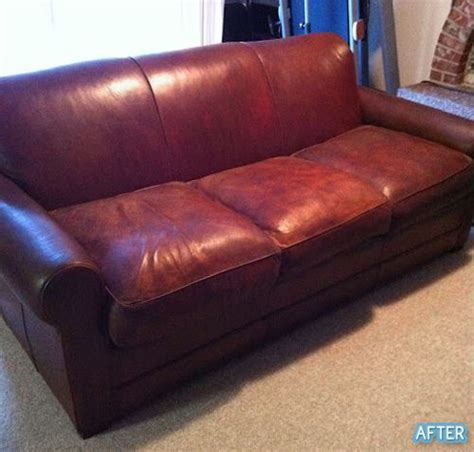 how to restore leather sofa color pinterest the world s catalog of ideas