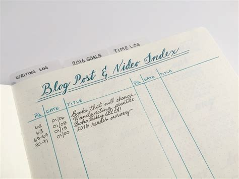 blogger journal introducing my blog business bullet journal boho