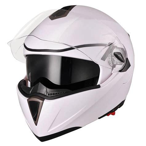 motocross helmet with visor dot full face flip up motorcycle helmet dual visor bike