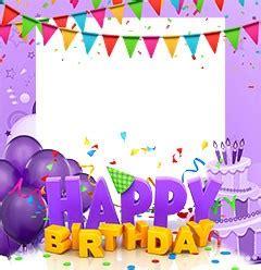 cornici per compleanno cornici di buon compleanno loonapix