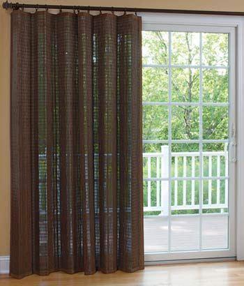 Decorative Patio Door Curtains - decoration decorative curtains for sliding doors