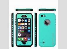 PUNKcase StudStar Teal Apple iPhone 5S/5 Waterproof Case White Iphone 5 Case