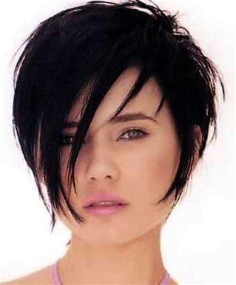 hair cut 2015 short length layered hairstyles thin hair for round faces