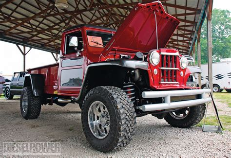 diesel jeep truck 2009 scheid diesel extravaganza 1953 jeep willys photo 4