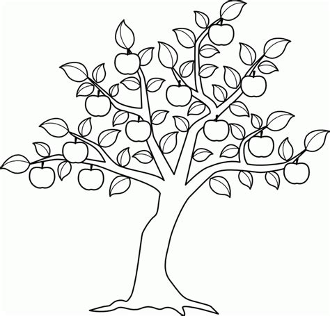 tree leaf coloring pages apple tree leaf colouring pages az coloring pages