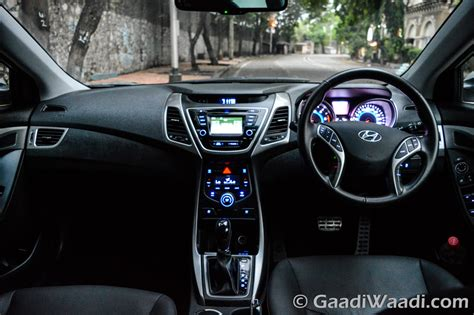 hyundai elantra 2015 interior 2015 hyundai elantra facelift review