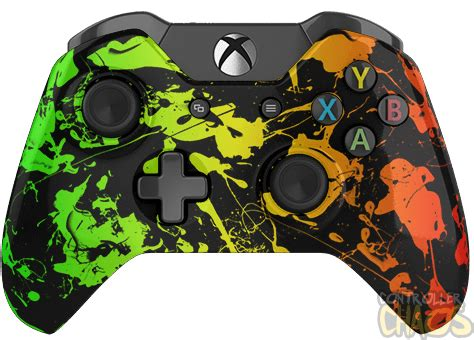 Single Pad Usb Led Transparent rasta xbox one modded controller controller chaos
