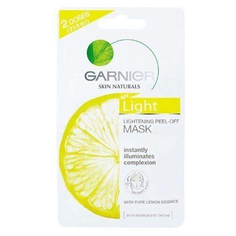 Masker Garnier White garnier light lightening peel mask 2x6ml 2doses p free dice key chain by garnier 12
