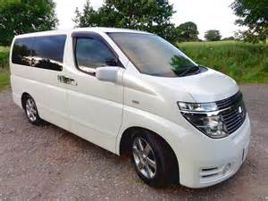 Nissan Elgrand Cervan For Sale Nissan Elgrand 3 5 4wd Andrew S Japanese Cars