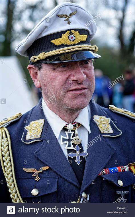 complete uniform of a german air force general item recuni 1 2 re enactor dressed in the uniform of herman goering head