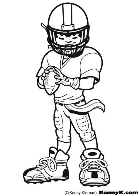 football guy coloring page malvorlage american football ausmalbild 9028