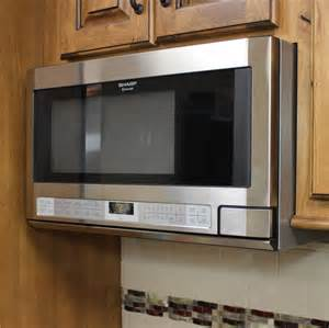 this sharp the counter model microwave allows for a