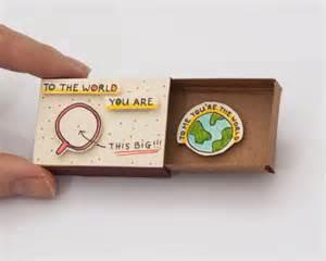 Cute Love Card Anniversary Card Tiny Love Card Matchbox