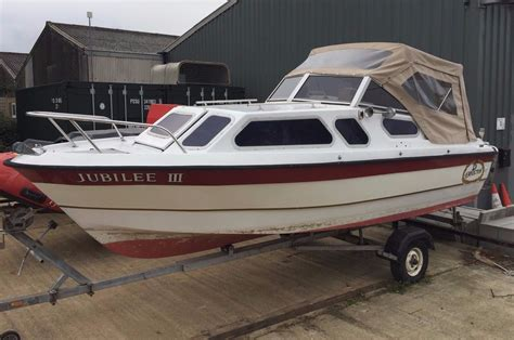 boat canopy for sale 17ft picton cabin boat with trailer and pram canopy