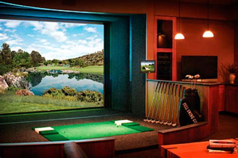 full swing golf simulators full swing golf simulator uncrate