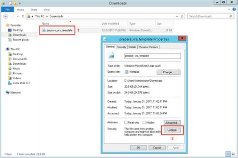 installing bootstrap on windows prepare windows for vra software deployment
