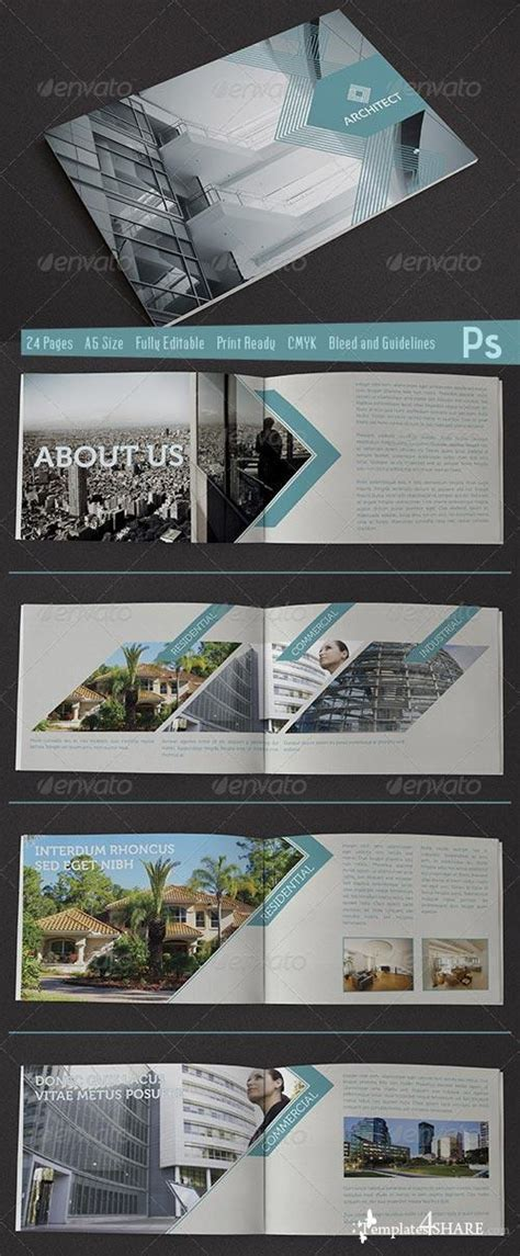 architectural design template graphicriver architect brochure 187 templates4share