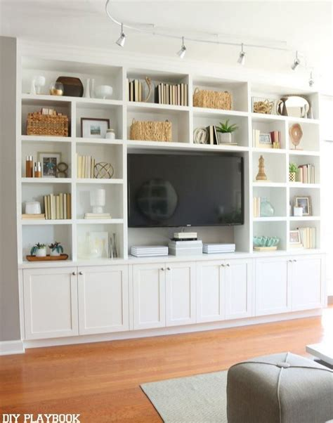 10 ways to diy your own built in shelves
