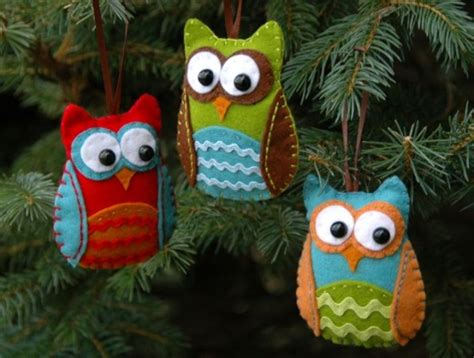 felt ornaments 10 awesome owl craft projects