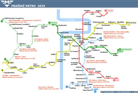 Sk Ii Di Metro budoucnost pražsk 233 ho metra str 225 nky o pražsk 233 m metru