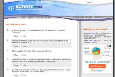 free online printable iq test free iq test and results
