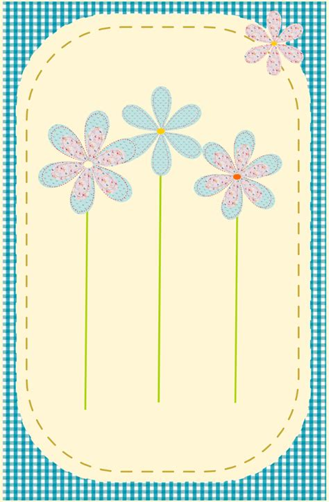 printable flowers for cards free printable happy birthday card in sewing style