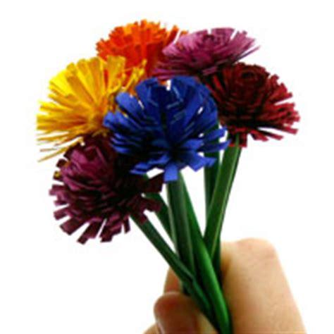 Blumenstrauß Aus Papier Basteln 4726 by Kostenlose Bastelanleitungen Zum Basteln Im Sommer