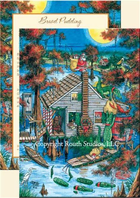 louisiana greeting cards cajun greeting cards   chimney christmas cards