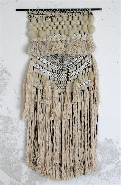 Macrame Weaving - all roads white magic weaving http www