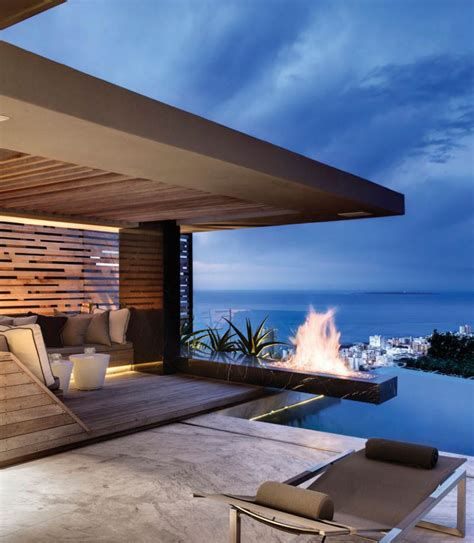 modern rooftop terrace with pool house ocean home indulge yourself in luxury with rooftop