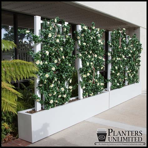 Commercial Planter by Space Dividers Commercial Planters Planters Unlimited