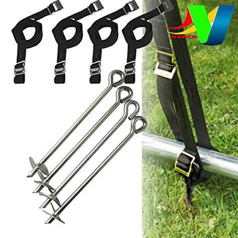 swing set tie down kit troline anchor kit fixing tie down kit set for windy