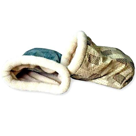 bed sack kitty crinkle sack bed 15 x 18 in color sage fanix
