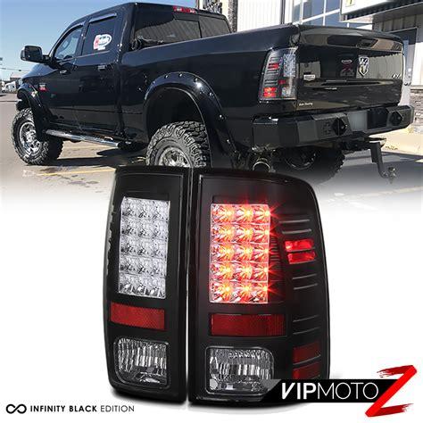 2013 dodge ram lights 2013 2014 2015 dodge ram 1500 2500 3500 mat black rear led
