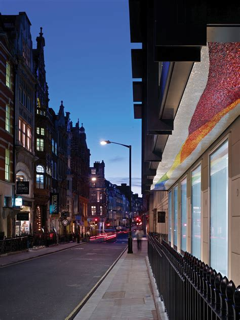 bond street  st george street london office projects eric parry architects london