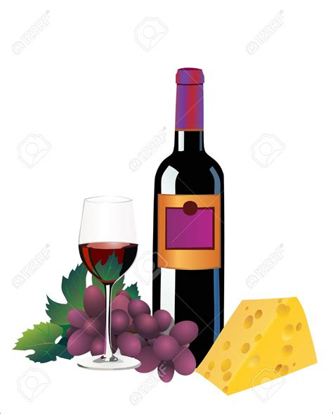 cartoon wine and cheese wine glass wine bottle download clip art free clipart of