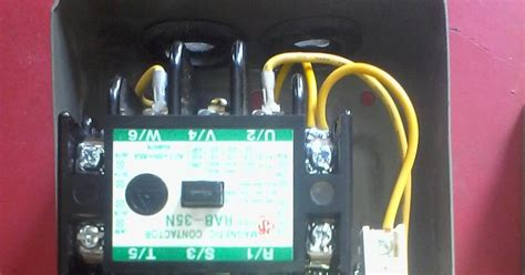 contactor wiring diagram electrical 4u tutorials