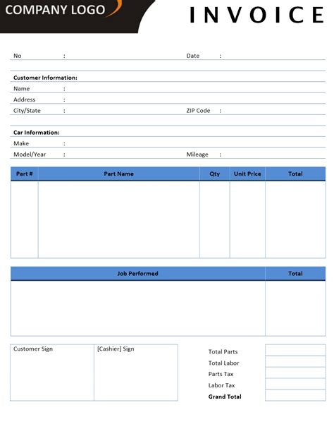invoice home free printable invoice
